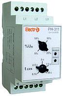Реле контроля фаз и напряжения РН-311, 3Р+N, 2 регулировки, 380В, Electro