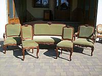 Комплект мягкой мебели в стиле Луи (1950)