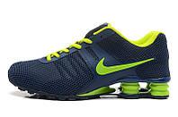 Мужские кроссовки Nike Shox blue-green