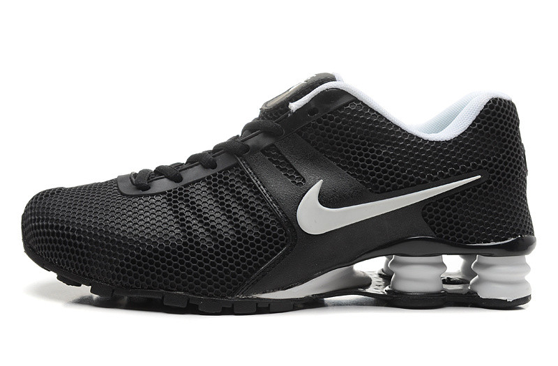 0bb0fabd45d3 Мужские кроссовки Nike Shox black-white - Интернет магазин обуви Shoes-Mania  в Днепре