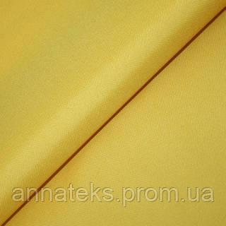 Ткань тентовая Оксфорд-215 арт. 100595, Рис №15 желтый 150СМ