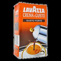 Кофе молотый Италия Lavazza Crema E Gusto Gusto Forte 250 Gr
