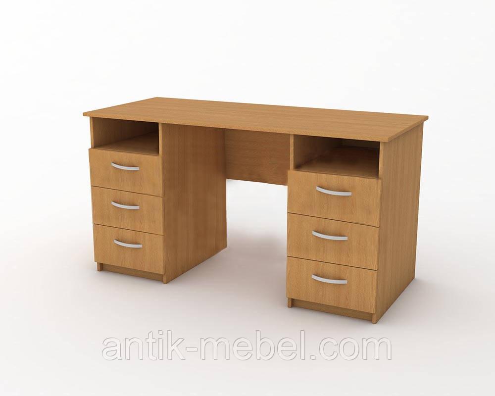 Стол офисный 2-тумбовый СР-001-2-О 1500x600x750 мм