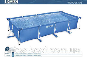 Чаша бассейна Small Frame Pool 450х220х84 см. Intex 10580, фото 2
