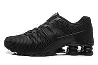 Мужские кроссовки Nike Shox black