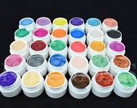 Гель - краски СОСО набор 30 шт перламутровые    по 5 мл