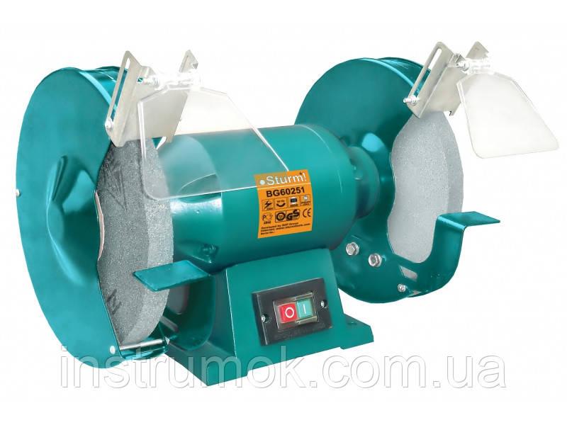 Точильный станок 250 мм, 800 Вт Sturm BG60251