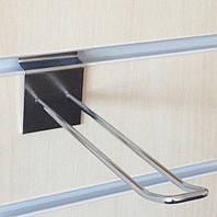 Крючки двойные 150мм хромированные для экономпанелей