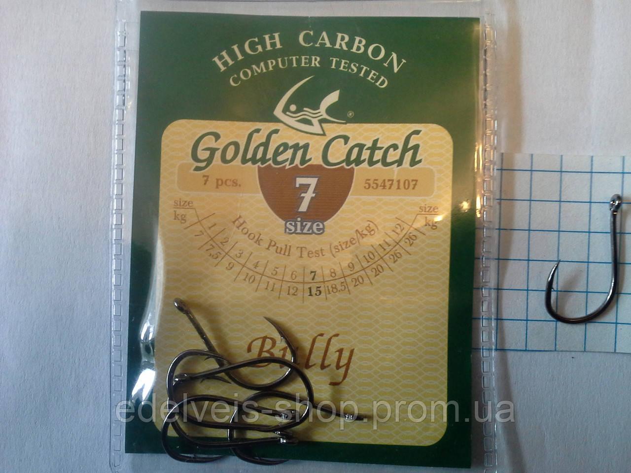 Крючки  рыболовные Golden Catch  BULLY  7