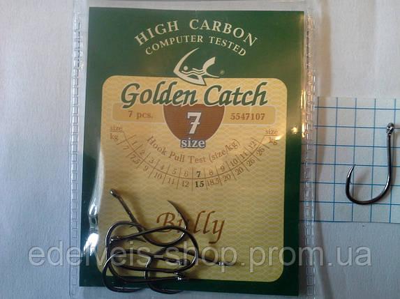 Крючки  рыболовные Golden Catch  BULLY  7, фото 2