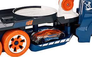 Хот Вилс Грузовик с краном со звуком и светом Hot Wheels Spinnin' Sound Crane, Lights and Sounds Vehicle, фото 2