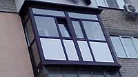 Балкон под стекло