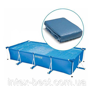Чаша бассейна Small Frame Pool 220х150х60 см. Intex 10942, фото 2