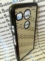 Чехол для 2D сублимации пластиковый на LG Google Nexus 5x черный, фото 3