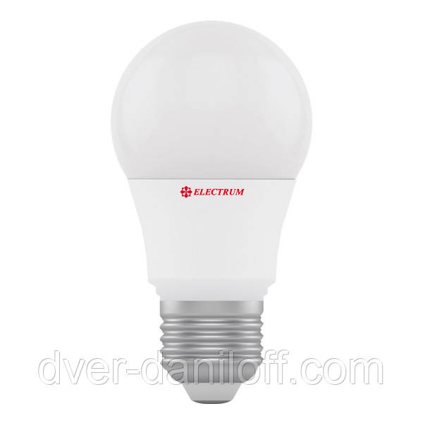 Лампа светодиодная electrum стандартная A50 6W E27 4000 PA LD-7