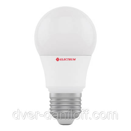 Лампа светодиодная electrum стандартная A50 6W E27 3000 PA LD-7 , фото 2