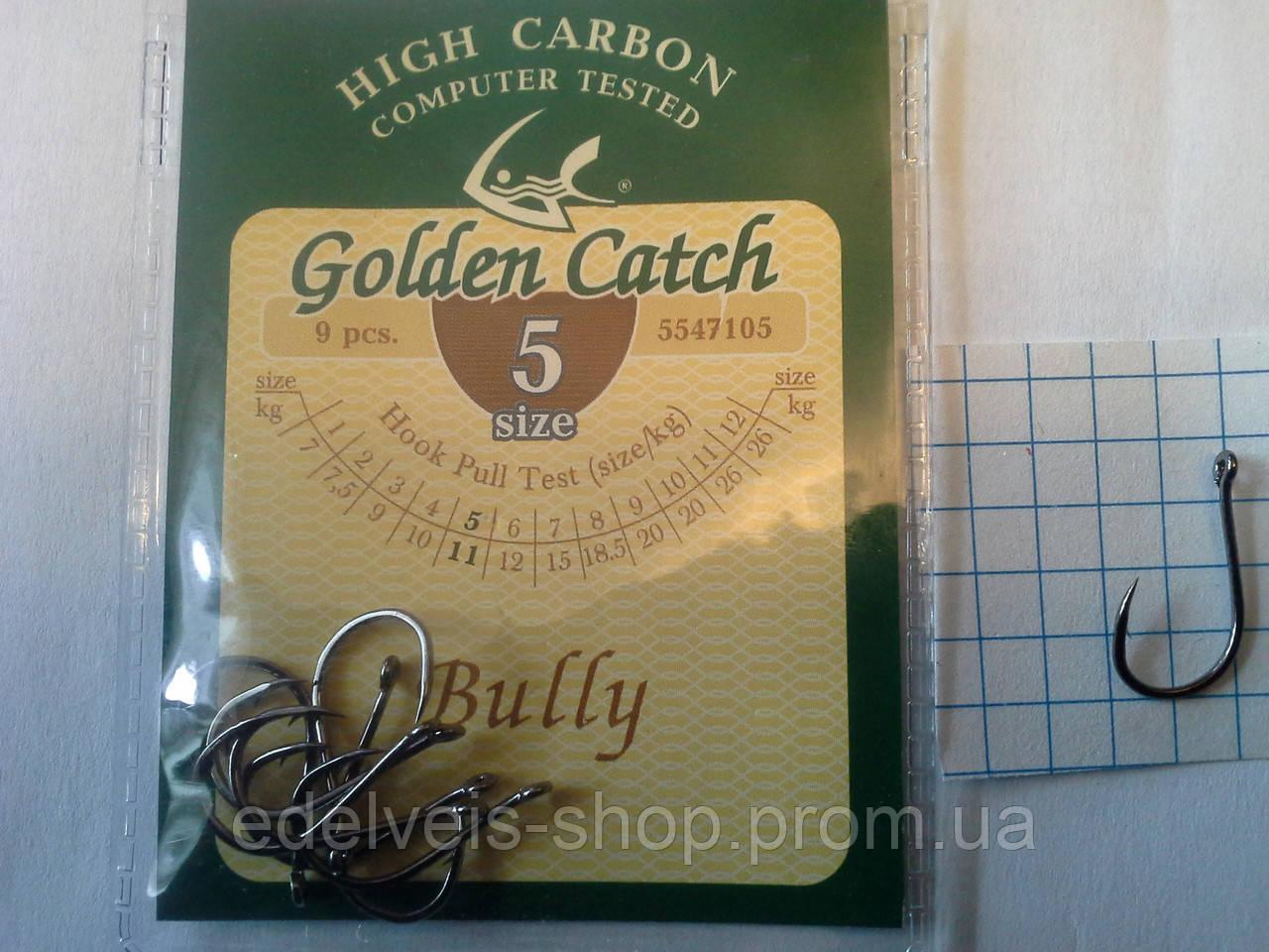 Крючки  рыболовные Golden Catch  BULLY 5