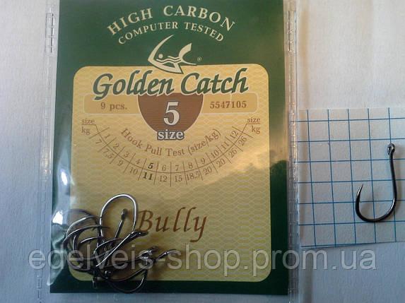 Крючки  рыболовные Golden Catch  BULLY 5, фото 2