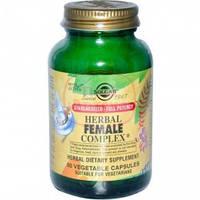 """Травяной комплекс для женщин """"-нормализуют гормональный фон(50капс,Солгар ,США)"""