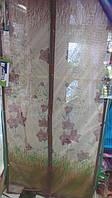 Антимоскитная сетка (штора) с магнитами на двери 100*210 см