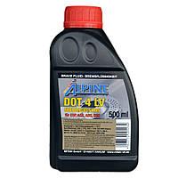 Тормозная жидкость ALPINE Brake Fluid DOT 4 LV Class 6 (0,5 л.)