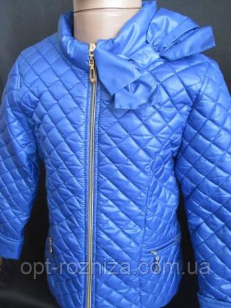 Легкие куртки  из плащевки для девочек .