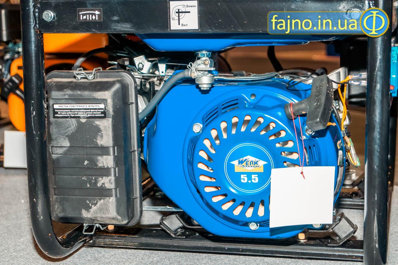 Бензиновый генератор Werk WPG3000 (2,5 кВт) фильтр