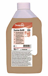 Средство для мытья печей, грилей, фритюрниц, пароконвектоматов Suma Grill D9 (2 л)