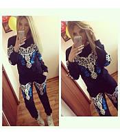 Женский стильный спортивный  костюм Винтаж  5 цветов S,M,L