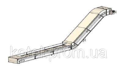 Скребковый транспортер для котла на биомассе СН Compact 1500 квт