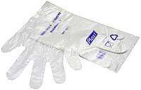 Перчатки полиэтиленовыеотрывные Plast (100шт./уп., 100 уп./ящ.)