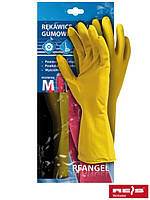 Перчатки защитные резиновые флоковые RF Y