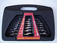 Набор рожково-накидных ключей 8-19мм 7ед.(развёрнутых) (шт.) JW0039-7S JTC