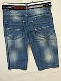 Джинсові шорти дитячі для хлопчика.86-110, фото 2