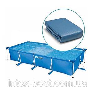Чаша бассейна Small Frame Pool 260-160-65 см. Intex 10943, фото 2