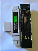 TDS (ТДС)-метр - кондуктометр с автоматической калибровкой и дисплеем с подсветкой  Анализатор чистоты воды
