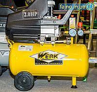 Компрессор Werk BM-2T24 (200 л/мин, 24 л)