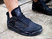 """Баскетбольные кроссовки Air Jordan 4 """"Black Cat"""""""