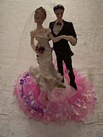 Съедобная свадебная статуэтка