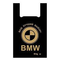 """Майка 40(7)60 """"BMW"""" черный SUPER"""