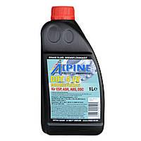 Тормозная жидкость ALPINE Brake Fluid DOT 4 LV Class 6 (1 л.)