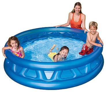 Детский надувной бассейн. НЛО (188x46).Intex 58431