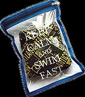 "Водонепроницаемая сумка для мужских плавок ""Keep calm and swim fast"", S"