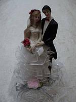 Несъедобная статуэтка для торта на свадьбу 19 см