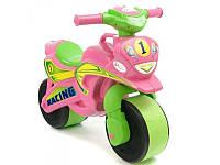 Детский мотоцикл-толокар Байк Спорт 0139/3 Фламинго-Тойс