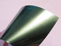 Зеркальная пленка под зеленый хром