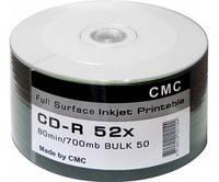 CD-R диски для аудио, принтовые CMC Magnetics Рrintable Bulk/50