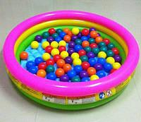 Intex 57422 Надувной детский бассейн 147 х 33 см