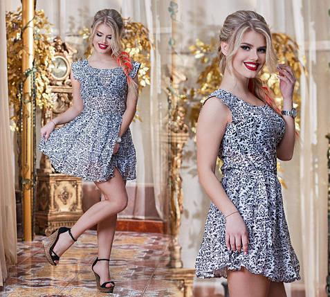 Шифоновое платье, фото 2