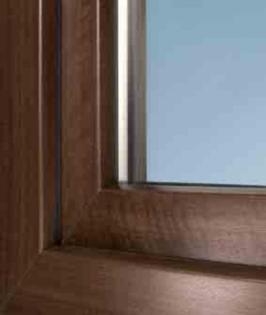 Ламинированные окна Schuco Шуко